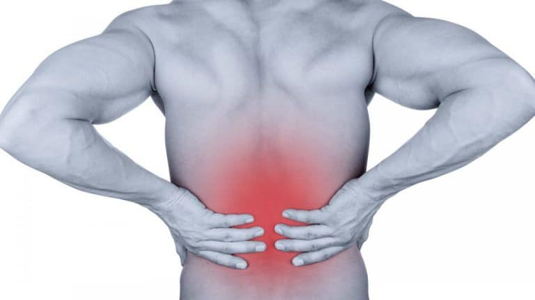 Guy with Low Back Pain